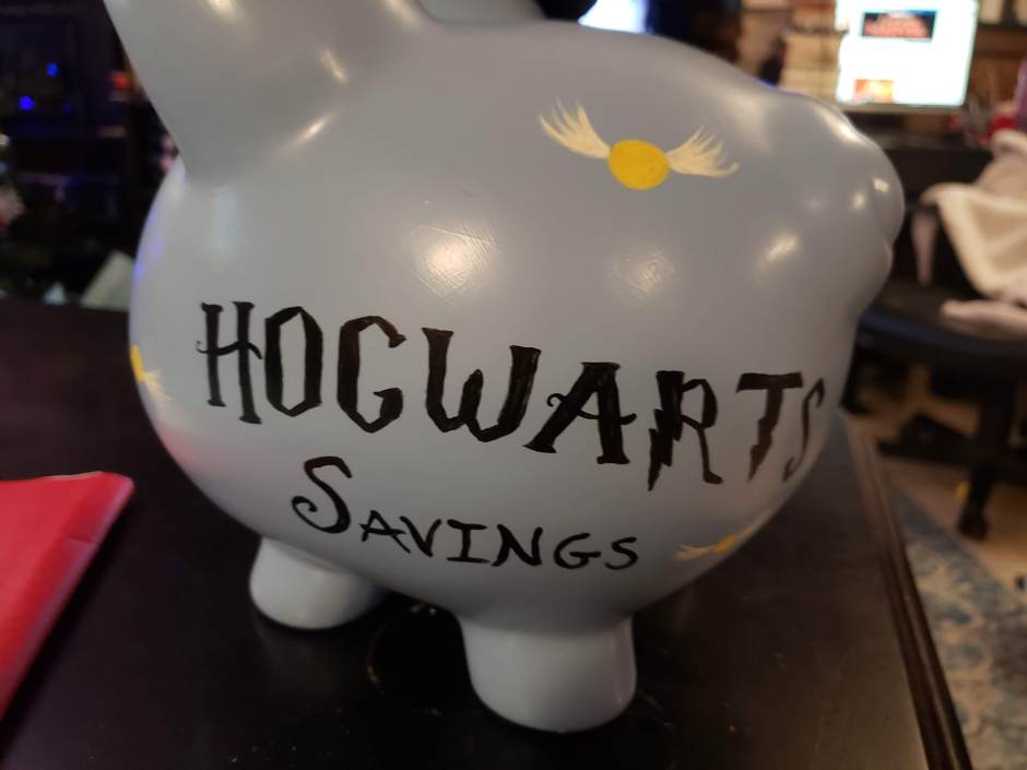 Hogwarts Savings Piggy Bank