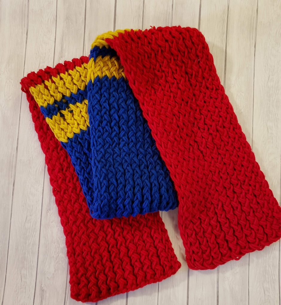 Captain Marvel Scarf