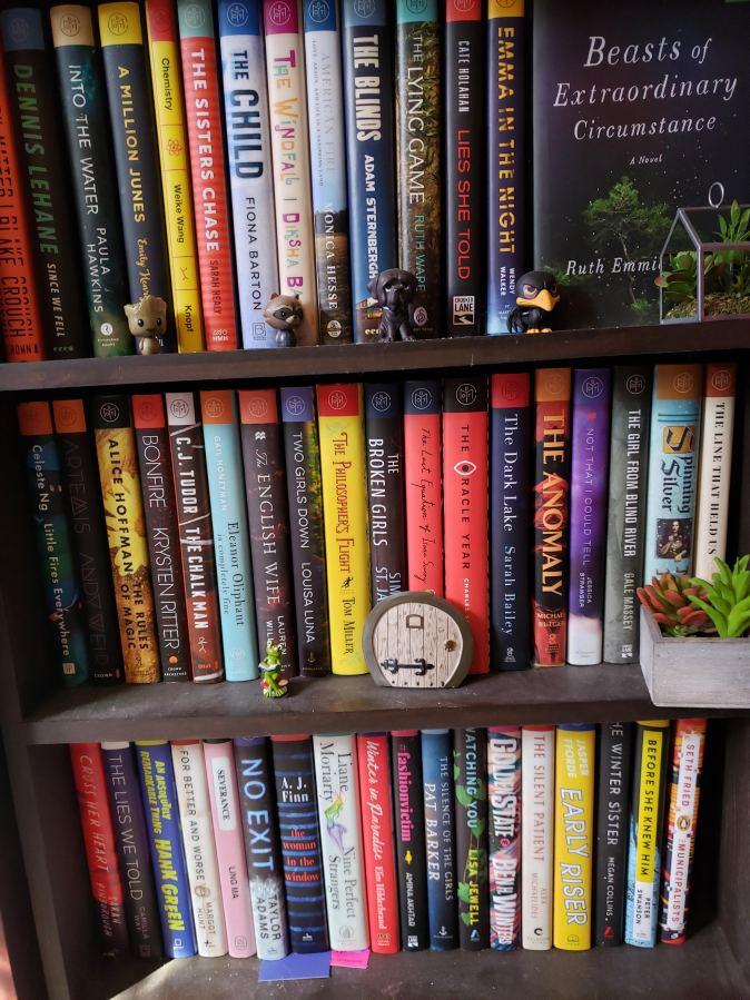My BOTM Shelf