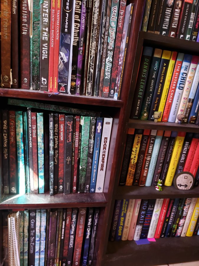 (Most of) The Roleplaying Books