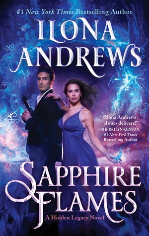 Sapphire Flames (Hidden Legacy #4) by Ilona Andrews