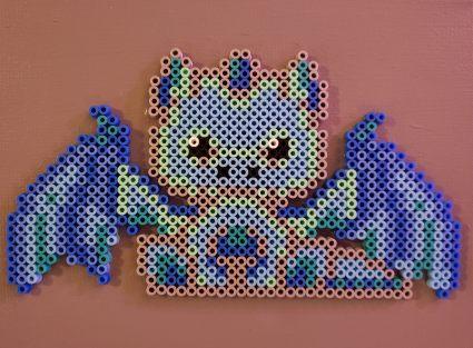 Blue and Grady Dragon