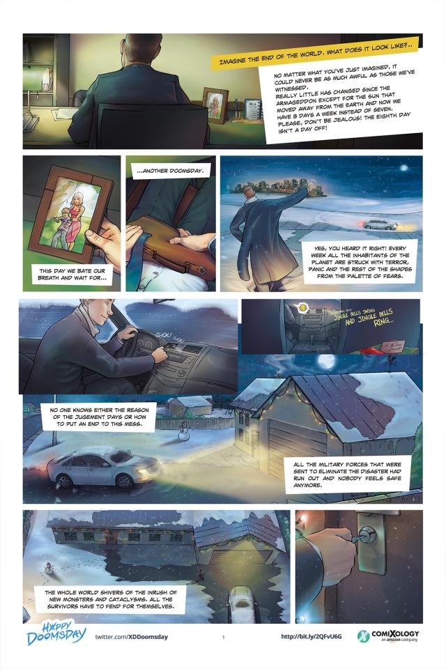 Happy Doomsday #1 pg1